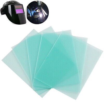 10x Replacement Clear PC Welding Protective Cover Lens Plate for Welding Helmet