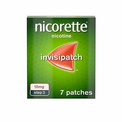 Nicorette InvisiPatch, Step 3, 10 mg, 7 Nicotine Patches (Stop Smoking Aid)