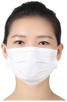 Surgical Face Mask Type 2R Reusable Masks Surgeon White Mask With Ear Loops