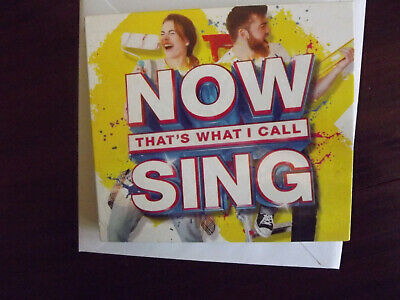 Sony Music Now That's What I Call Sing 3 CDs 2017 M FACT Sealed
