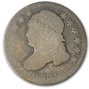 1821 Capped Bust Dime Small Date Good - SKU#56575