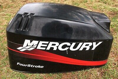 Mercury 40 HP 4-Stroke Outboard Hood Cover Cowling
