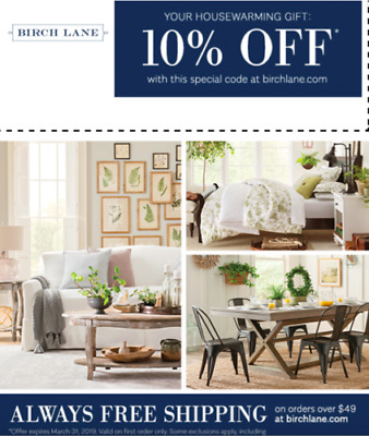 ✨Instant Delivery✨ Birch Lane — Extra 10% OFF Order Promo Code — Exp. 6/30
