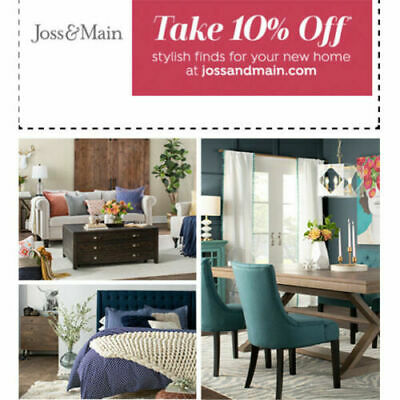 ✨Instant Delivery✨ JossandMain.com — 10% OFF Order Promo Code — Exp. 6/30