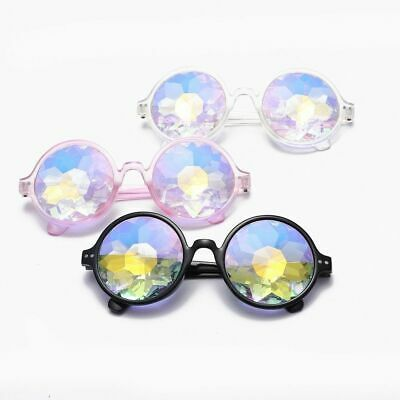Kaleidoscope Glasses Unisex Music Festival Rave Party Sunglasses psychedelic