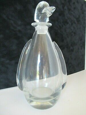 Crystal Penguin decanter