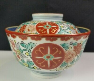 Exceptional 19th Century Japanese Imari Lidded Bowl