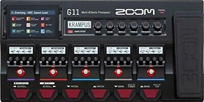 ZOOM Zoom Guitar Multi-effects Processor Flagship Model G11