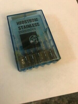 Brasseler Hedstrom Stainless Endo Files Size 40 Brand New