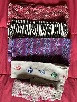 Use Lot of 5 Girls Size 7/8 Cotton Spandex Leggings & Stockings