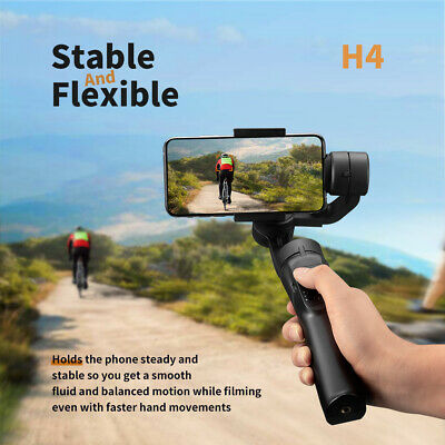Smooth H4 Handheld 3-Axis Mobile-Phone Gimbal Stabilizer For iphone~
