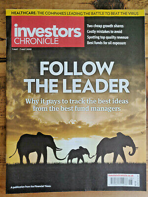INVESTORS CHRONICLE Magazine 1st-7th May 2020 Stocks+Shares / Best Fund Managers