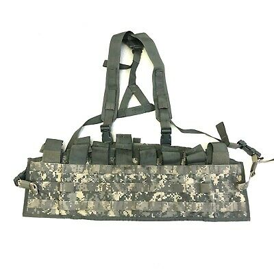 Used US Army Tactical Assault Panel TAP, Military MOLLE ACU Chest Rig