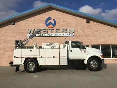 2011 Ford F750 Service Truck Mechanics Crane Utility LOW MILES