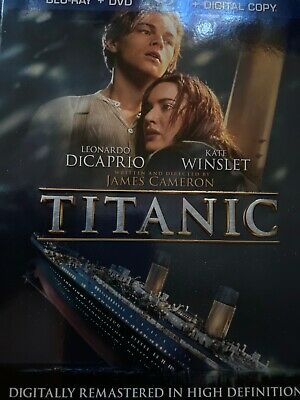 Titanic  (Digital Movies from Blu-ray ) please read
