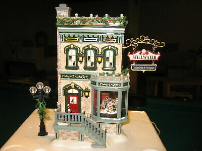 Dept 56 Stillwater Collectibles And Antiques.