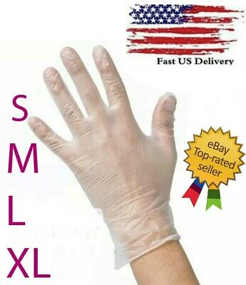 DISPOSABLE VINYL GLOVES  Powder-Free Latex-Free Non-Sterile - S, M, L, XL