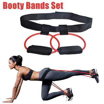 Fitness Resistance Booty Band Set Muskeltraining Übung Workout Crossfit