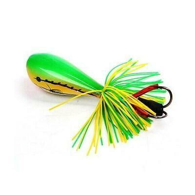 Jumping Frog Lure Topwater Lure 90mm 10g Double Strong Hook Jump Action New Z4T4