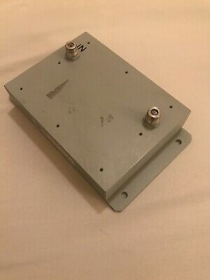 Bandpas Coax Filter, 950-1450 MHz, MFC 11871DC. Microwave Filter Company