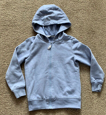 **Girls Lovely Zip Up Hodded Top Age 4-5yrs**