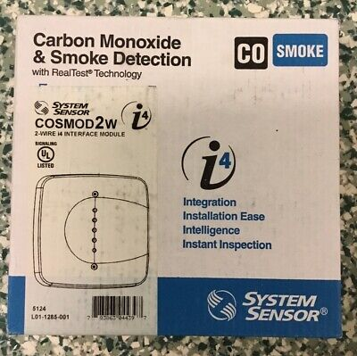System Sensor COSMO-2W Combination Carbon Monoxide and Smoke detection New!