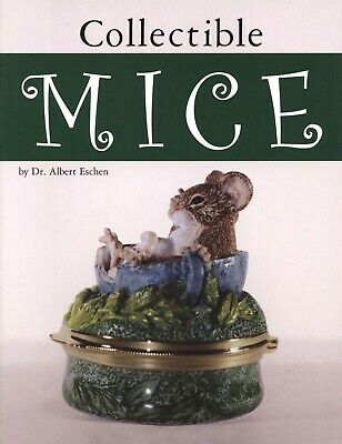 Collectible Mice -  Types Makers Dates - China Bronze Glass Etc / Book + Values