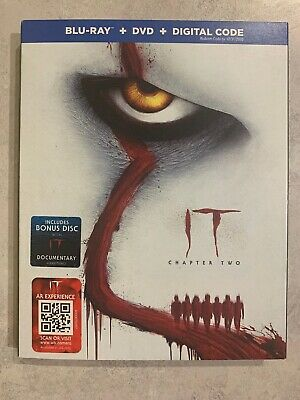 It Chapter 2 Blu-Ray & DVD Slipcover Canada Bilingual NO DC LOOK