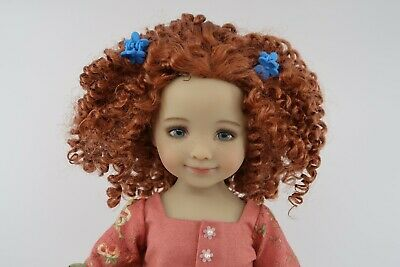 "Monique NATALIE doll wig Size 7-8/"" in 3 COLORS"