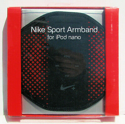 NEW Red Nike Sport Armband For Apple iPod Nano Holder Jogging Running