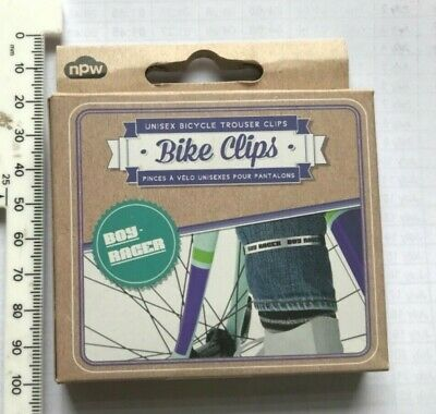 BIKE ATTITUDE TROUSER CLIPS WITH REFLECTOR