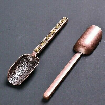 Details about  /1pc Small Metal Scoop Tea Coffee Ice Shovel Tool Home Office Kitchen Retro Chic