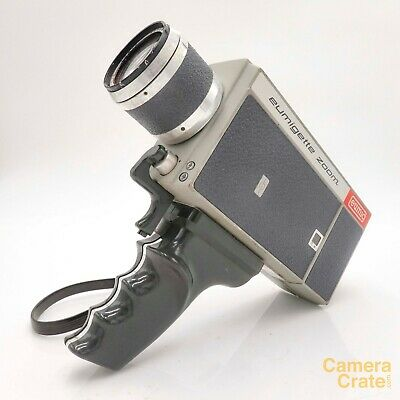 Eumig Eumigette Zoom Super 8 Cine Film Camera - Fully Working #S8-2269