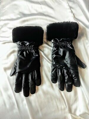 UGG Shearling Gloves/New/ L/XL/ Black/ New
