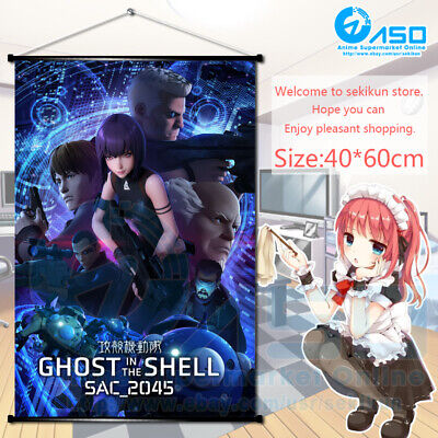 Anime Wall Scroll Poster Ghost In The Shell Sac 2045 Home Decor Art Collection 16 14 Picclick