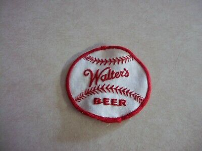 Scarce ORIGINAL WALTER'S BEER Baseball PATCH Wisconsin + Colorado Bar Tavern
