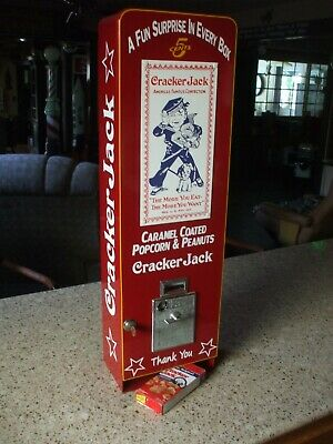 crackerjack vending machine popcorn peanuts baseball candy diner