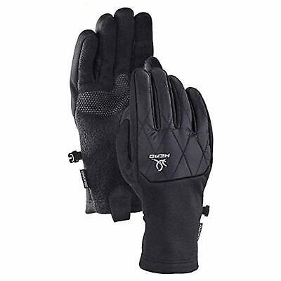 New Head Women's Hybrid Gloves with Sensatec Touchscreen Tech Size Large Black