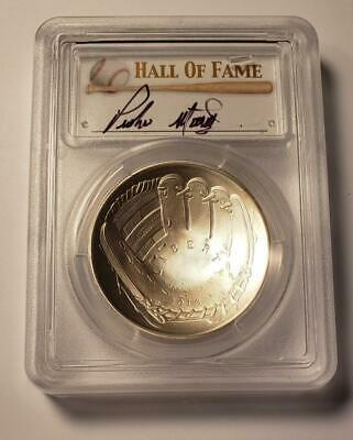 Pedro Martinez  AUTO PCGS MS70 Hall of Fame Silver Dollar. (low starting Bid)