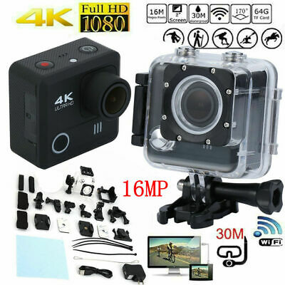 2020 NEW Wifi 1080P 4K Ultra HD Sports Action Camera DVR Camcorder Waterproof