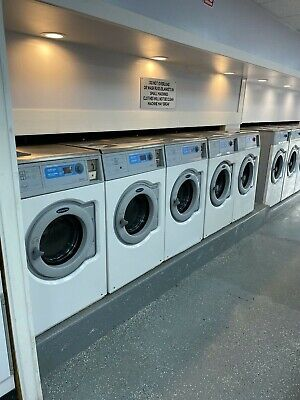 Coin-Operated Wascomat W625cc Washers, Working Condition