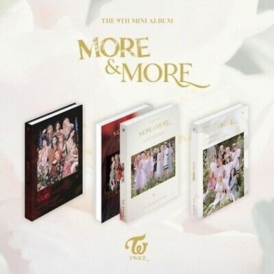 Twice[More&More]9th Mini Album CD+PhotoBook+Card+Post+Coaster Card+PreOrder+Gift