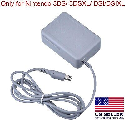 Replacement Home Charger AC Power Adapter for Nintendo 3DS/ 3DSXL/ DSI/ DSIXL