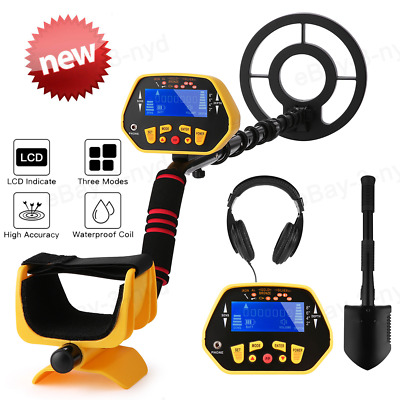Metal Detector Accuracy Pinpoint Professional Waterproof Gold Finder LCD Display