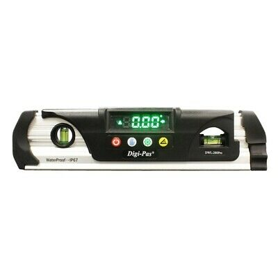 DWL280PRO Waterproof IP67 Digital Torpedo Level and Protractor Magnet Digi-Pas