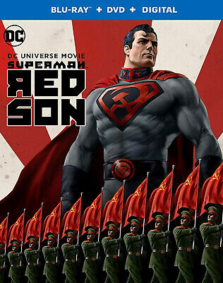 Dc Universe: Red Son, Slipcover, Case And Dvd Only, Never Watched, Free Shipping