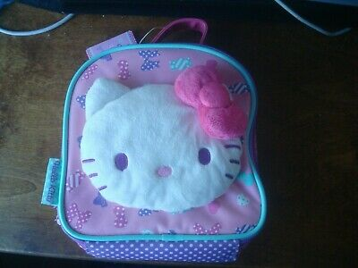 Sanrio Hello Kitty Soft Lunch Bag Lunch Box New With Tags  Free Postage