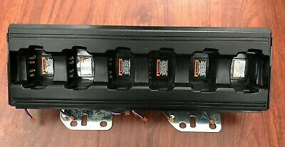Motorola WPLN4211A Impress Charger 6 Pocket Assembly Used Mint Condition