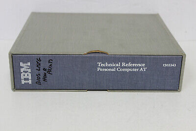 Ibm Technical Reference Personal Computer At Manual 1502243 For 5170
