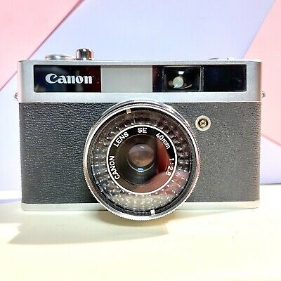 Canon Canonet Junior 35mm Compact Film Camera with 40mm f/2.8 Lens Film Tested